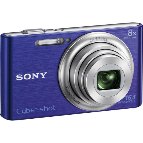 Sony Cyber-shot DSC-W730 Digital Camera (Blue)