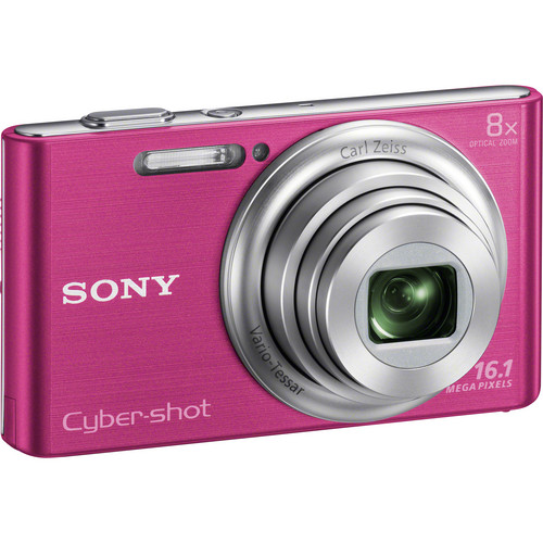 Sony Cyber-shot DSC-W730 Digital Camera (Pink)