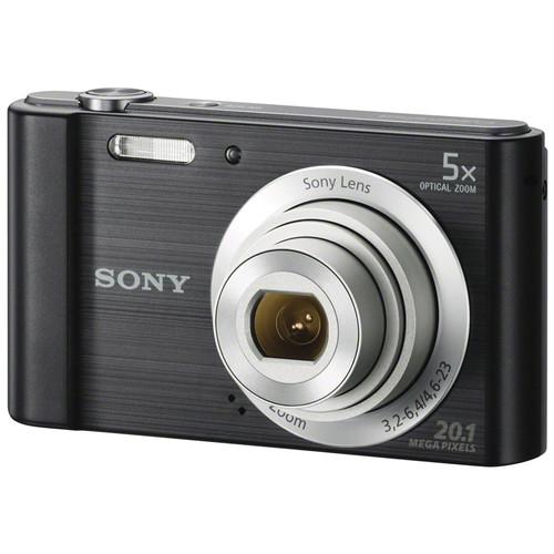Sony Cyber-shot DSC-W800 Digital Camera (Black)