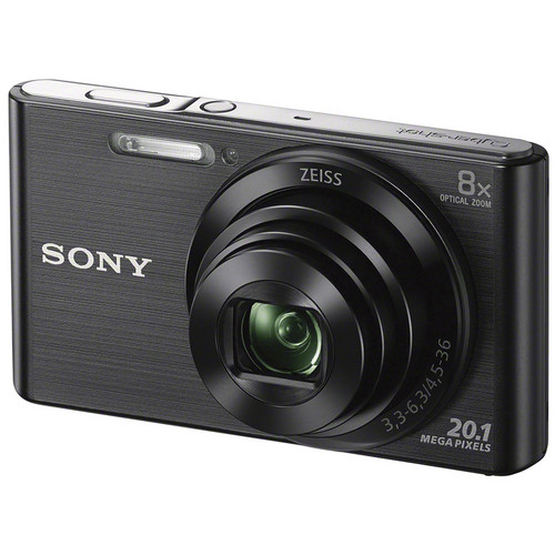 Sony DSC-W830 Digital Camera Deluxe Kit (Black)