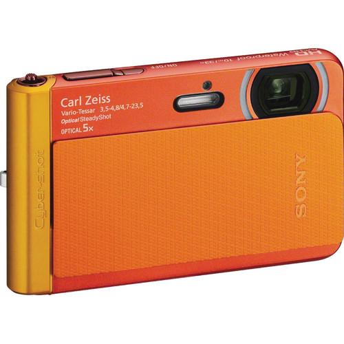 Sony Cyber-shot DSC-TX30 Digital Camera (Orange)