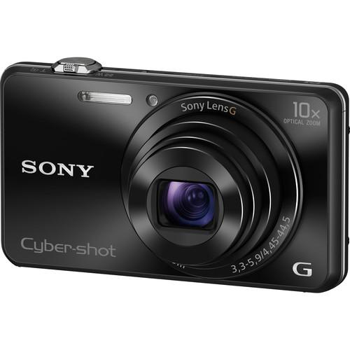 Sony Cyber-shot DSC-WX220 Digital Camera (Black)