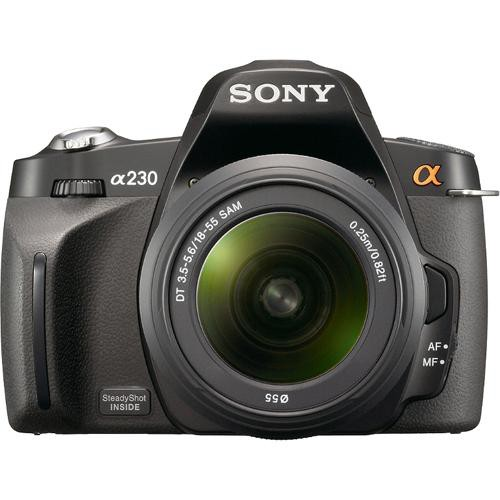 Sony Alpha A230 Digital SLR with 18-55mm Lens