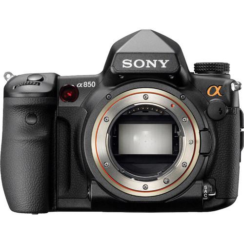 Sony Alpha DSLR- A850 Full Frame Digital SLR Camera