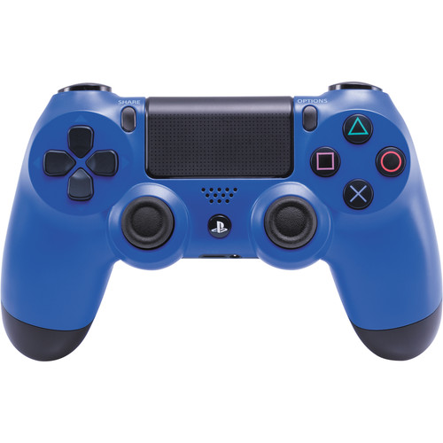 Sony DualShock 4 Wireless Controller with USB Wireless Adapter Kit (Wave Blue)