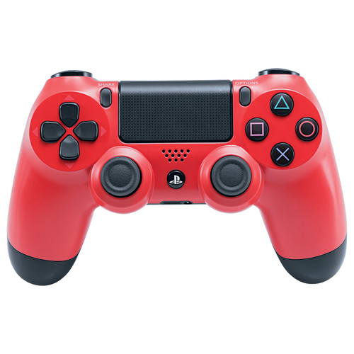 Sony DualShock 4 Wireless Controller with USB Wireless Adapter Kit (Magma Red)