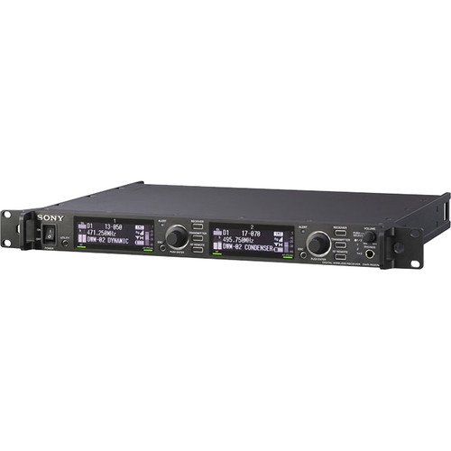 Sony Dual-Channel Digital Wireless Receiver (Rackmount, 14 to 51 UHF-TV Channels)