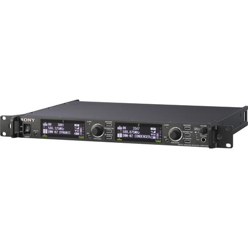 Sony DWRR02D/42 Dual Channel Rackmountable Digital Wireless Receiver