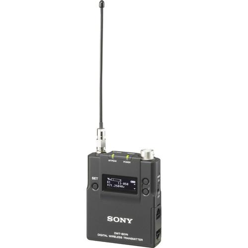Sony DWT-B01N/30A Digital Wireless Bodypack Transmitter (30A UC: 566 to 607 MHz)