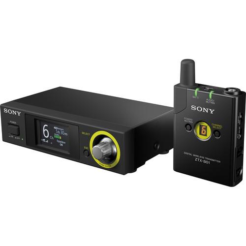 Sony DWZ Series Digital Wireless Guitar System (2402.0 to 2478.5 MHz)