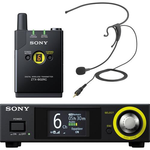 Sony DWZ Digital Wireless Headset Microphone System and Kit
