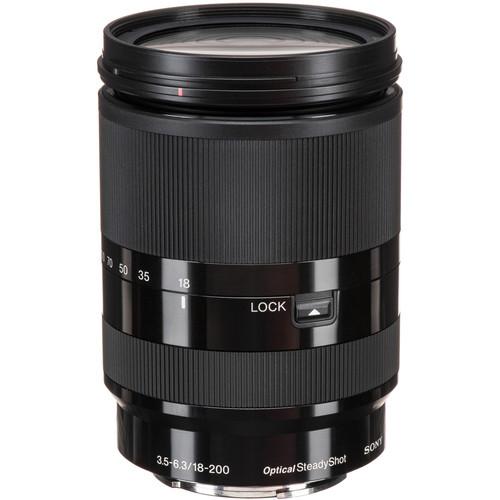 Sony E 18-200mm f/3.5-6.3 OSS LE Lens Solar Eclipse Kit