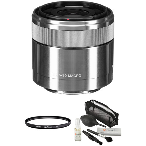 Sony E 30mm f/3.5 Macro Lens with Accessories Kit