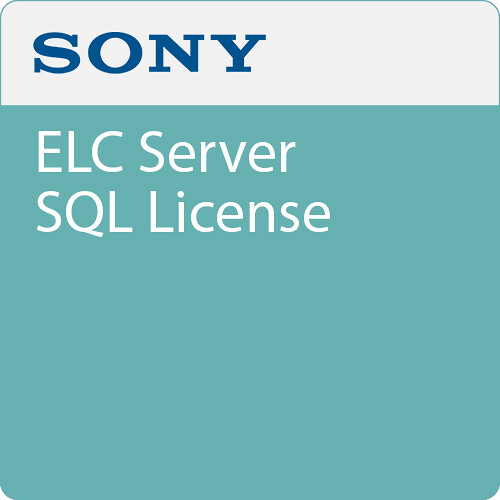 Sony ELC Server SQL License