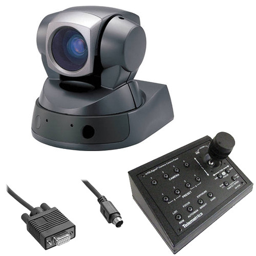Sony EVID100 PTZ SD Camera with Telemetric Controler and RS-232 Cable