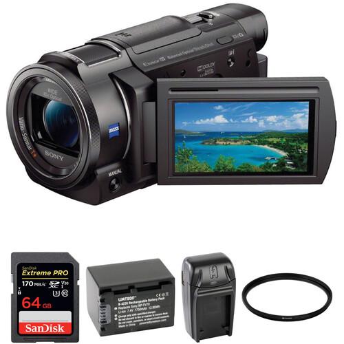 Sony FDR-AX33 4K Camcorder Basic Kit
