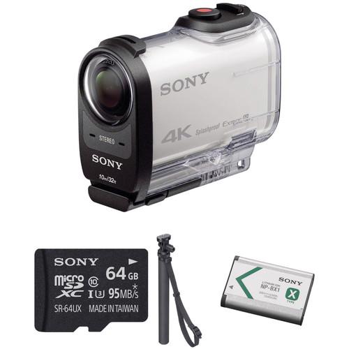 Sony FDR-X1000V 4K Action Cam Beginners Kit