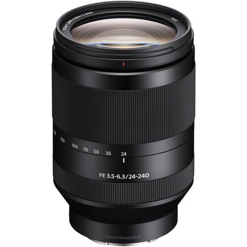 Sony FE 24-240mm f/3.5-6.3 OSS Lens Solar Eclipse Kit