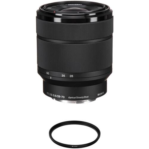 Sony FE 28-70mm f/3.5-5.6 OSS Lens with UV Filter Kit