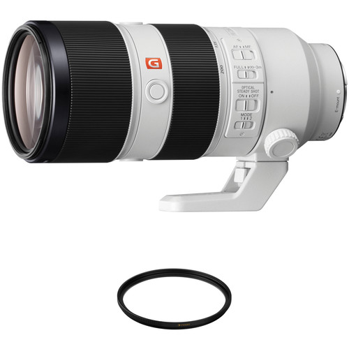 Sony FE 70-200mm f/2.8 GM OSS Lens with UV Filter Kit