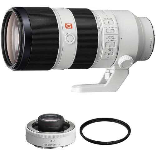 Sony FE 70-200mm f/2.8 GM OSS Lens with 1.4x Teleconverter Kit