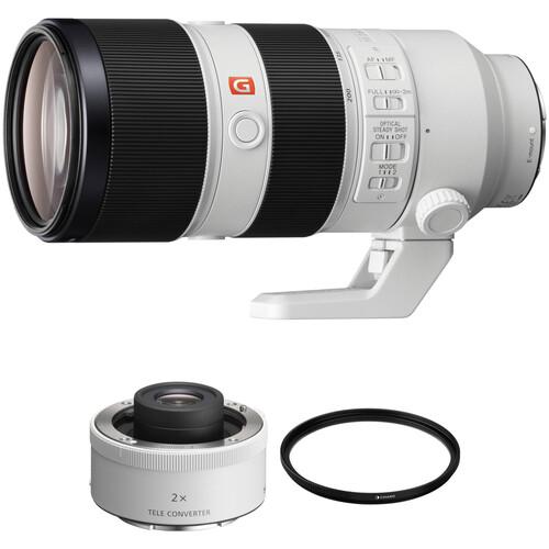 Sony FE 70-200mm f/2.8 GM OSS Lens with 2x Teleconverter Kit