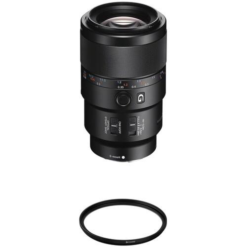 Sony FE 90mm f/2.8 Macro G OSS Lens with UV Filter Kit