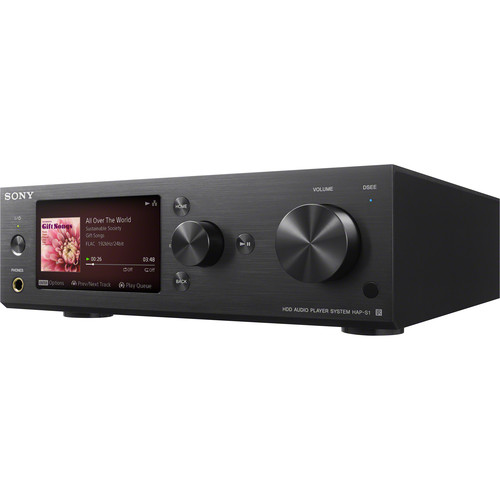 Sony HAP-S1/B - High Resolution Music Player System (Black)