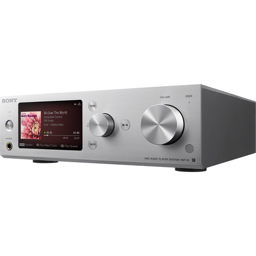 Sony HAP-S1/S - High Resolution Music Player System (Silver)
