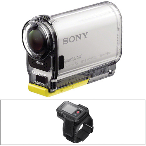 Sony HDR-AS100V POV Action Camera & Live-View Remote Kit
