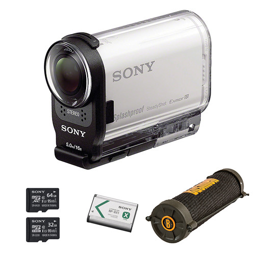 Sony HDR-AS200V HD Action Cam Camping Kit