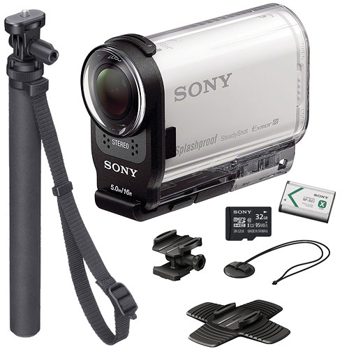 Sony HDR-AS200V HD Action Cam Summer Kit