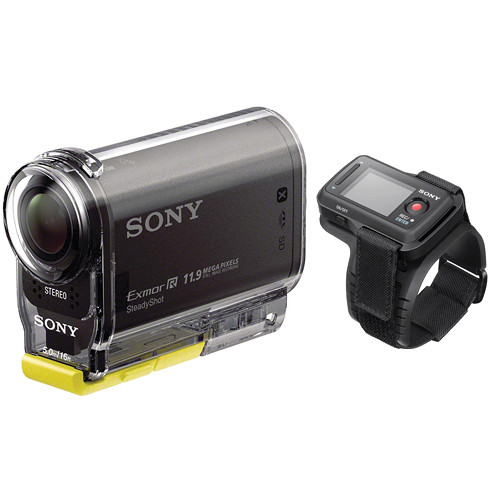 Sony HDR-AS30V HD POV Action Camcorder Kit with Live View Wireless Remote