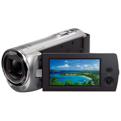 Sony Sony CX220E Full HD Flash Memory Handycam Camcorder (PAL, Silver)