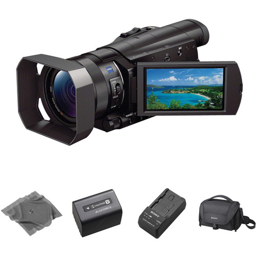 Sony HDR-CX900 Full HD Handycam Camcorder with Lens Cloth Kit (Black)