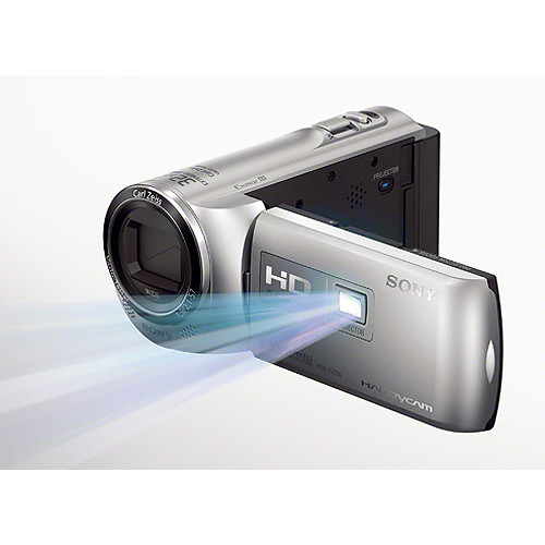 Sony HDR-PJ230E Full HD Flash Memory Camcorder (PAL, Silver)