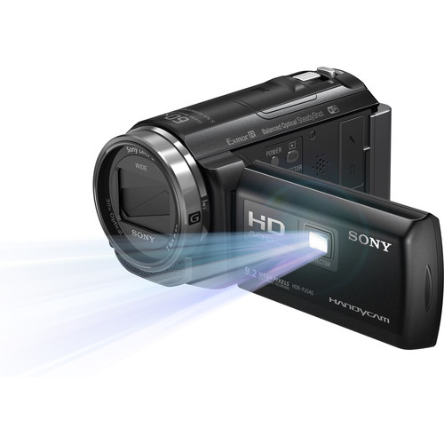 Sony HDR-PJ540 Handycam Kit with Built-In Projector, 32GB Internal Memory, & Portable Speaker
