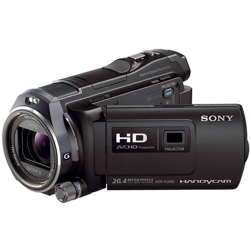 Sony HDR-PJ660E 64GB Handycam HD Camcorder (PAL, Black)