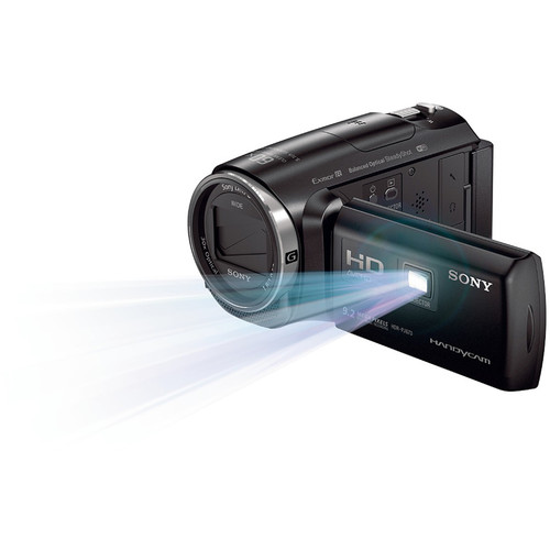 Sony HDR-PJ670E HD Handycam with Built-In Projector and 32GB Internal Memory (PAL)