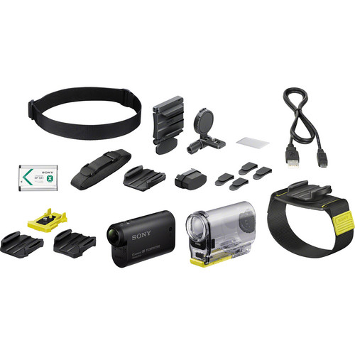 Sony HDR-AS30V Action Cam with Wearable Kit