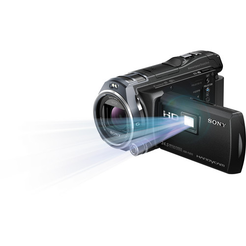 Sony 32GB HDR-PJ810 Full HD Handycam Camcorder with Built-in Projector (Black)