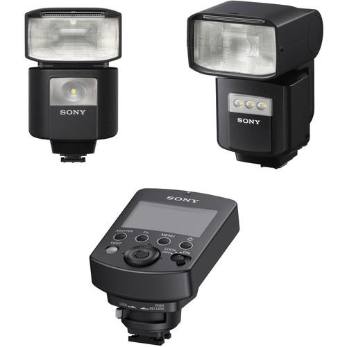 Sony HVL-F45RM and HVLF60RM Flashes with Radio Commander Kit