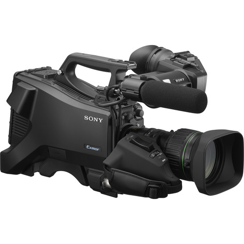 """Sony Full HD Studio Camera with 3.5"""" Portable Viewfinder, Mic, and 20x Lens"""
