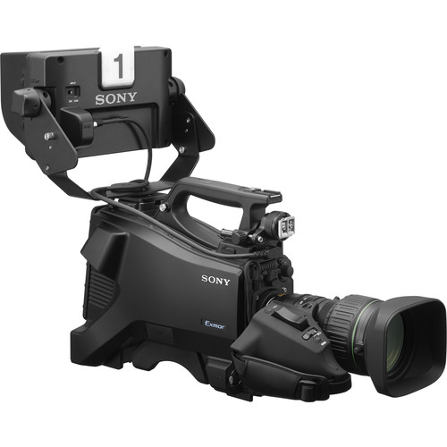 """Sony Full HD Studio Camera with 7"""" Viewfinder and 20x Lens"""
