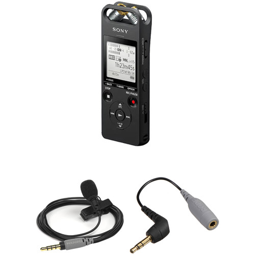Sony ICD-SX2000 Recorder with Rode smartLav+ Microphone Kit