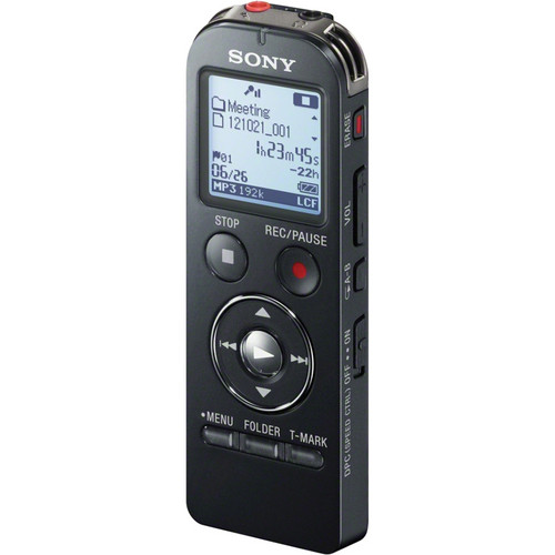 Sony ICD-UX533 Digital Flash Voice Recorder (Black)
