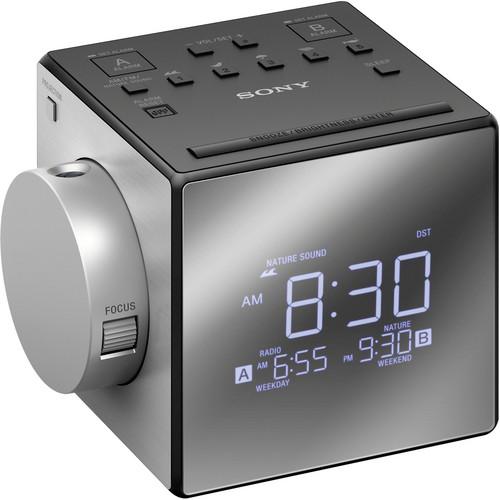 Sony ICF-C1PJ Alarm Clock Radio with Time Projection (Black)