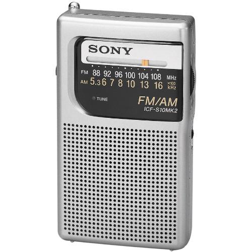 Sony ICF-S10MK2 Pocket AM/FM Radio