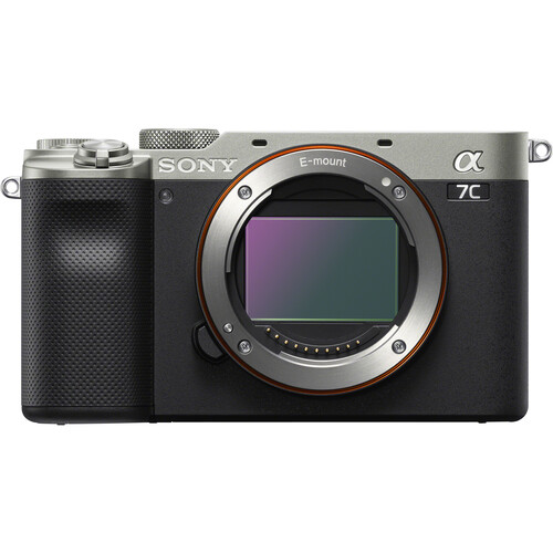 Sony Alpha a7C Mirrorless Digital Camera (Body Only, Silver)