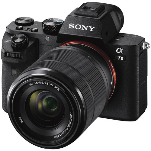 Sony Alpha a7 II Mirrorless Digital Camera with 28-70mm Lens and Accessory Kit